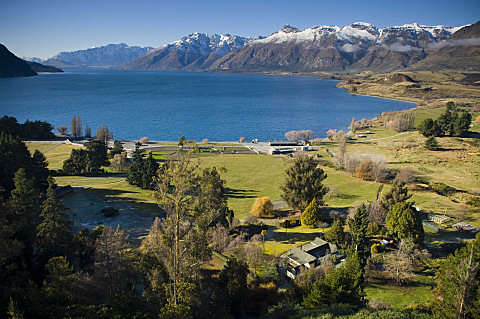 Mt Nicholas on the shore of Lake Wakatipu