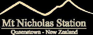 Mt Nicholas Station. Queenstown, New Zealand.